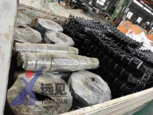 客户订购的一批链轮组件双翼去、刮板发货