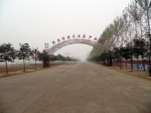 工业区大道拱形门